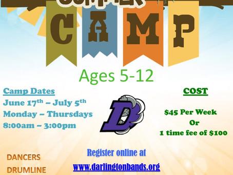 Darlington Band Summer Youth Camp