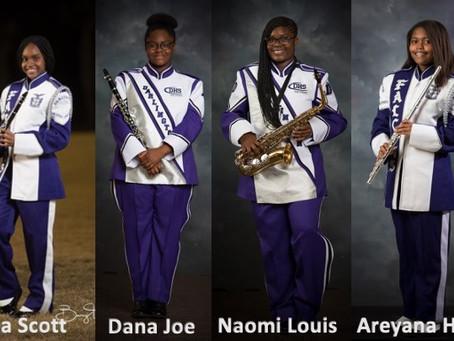 4 Darlington High School Students serve as Junior Marshalls