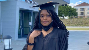 Darlington Band Senior, Areyana Henry graduates from Florence-Darlington Tech with Associates Degree