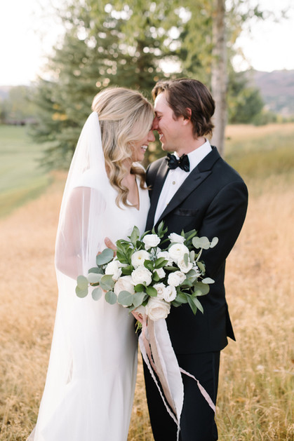 Elegant and organic fall wedding in Aspen