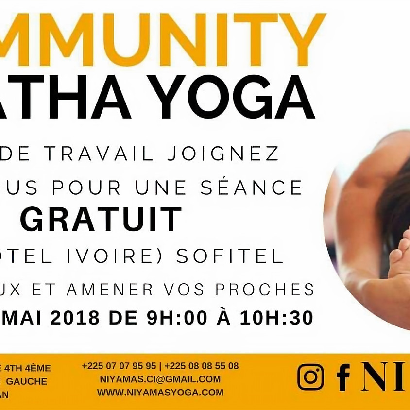 Community hatha yoga