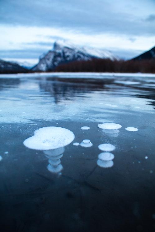 Banff bubbles, Banff, AB.