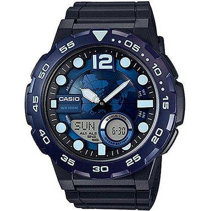 Relógio Casio  Aeq-100w-2avdf