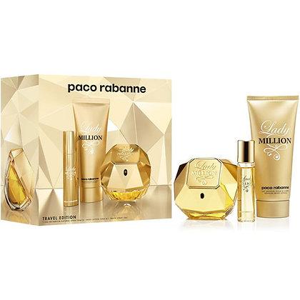 Perfume Paco Rabanne Lady Million Edp Kit