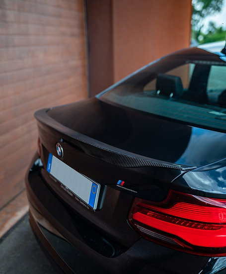 Ducktail rear spoiler BMW M2 F87 carbonfiber version