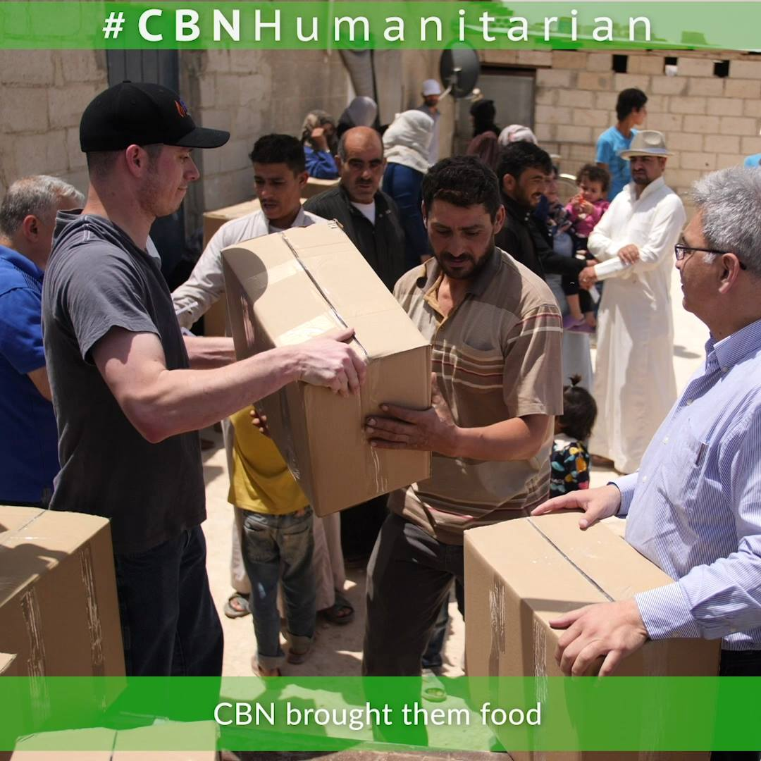 Syrian Refugee Camp Receives Aid