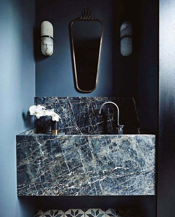 bathroom design marble