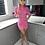 Thumbnail: TALLIAH Mini Ruched Pink Dress