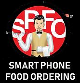 Transparent Smart Phone Food Ordering Lo
