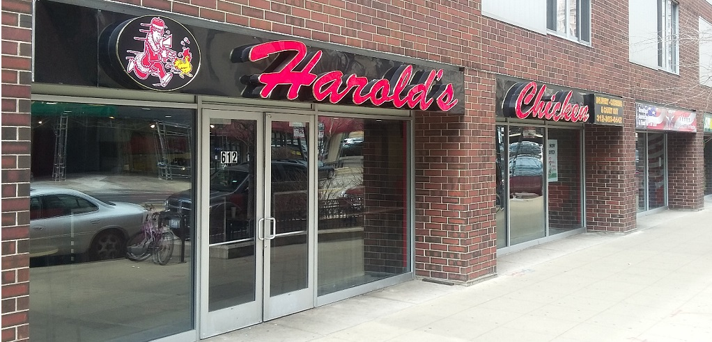 Harolds Chicken Downtown Chicago