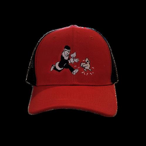 Harold's Trucker - Red & Black
