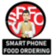 Transparent Smart Phone Food Ordering Lo