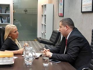 Reunión Lic. Claudia Calciano
