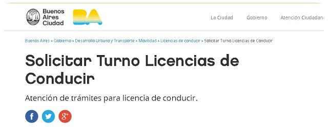Licencia de Conducir CABA