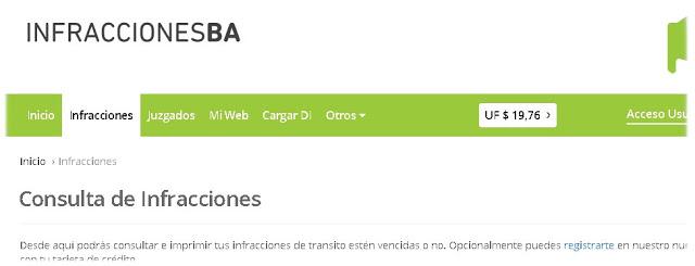 Registro de Infractores Buenos Aires