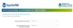 Certificado CENAT para Registro
