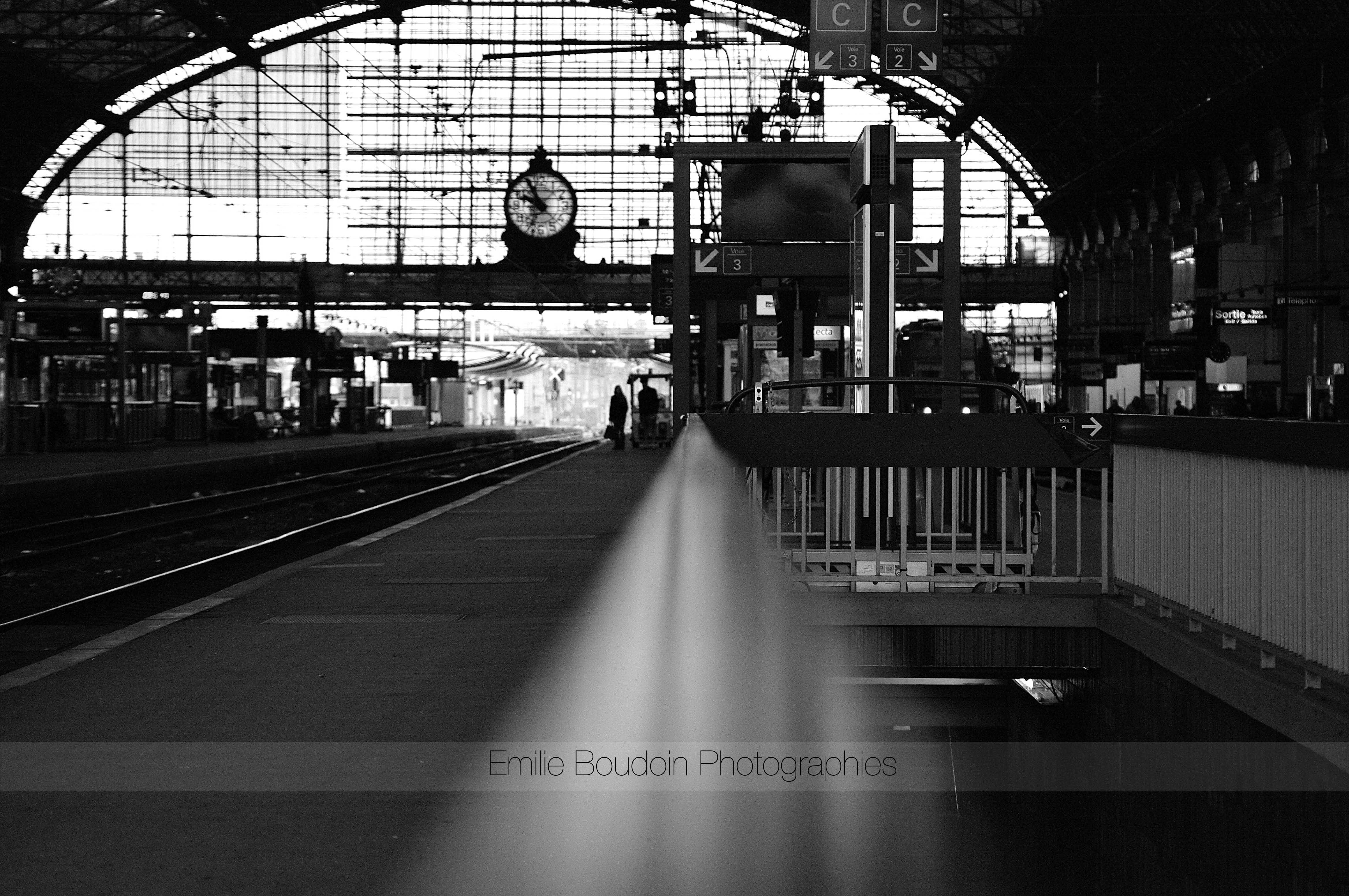La gare St Jean
