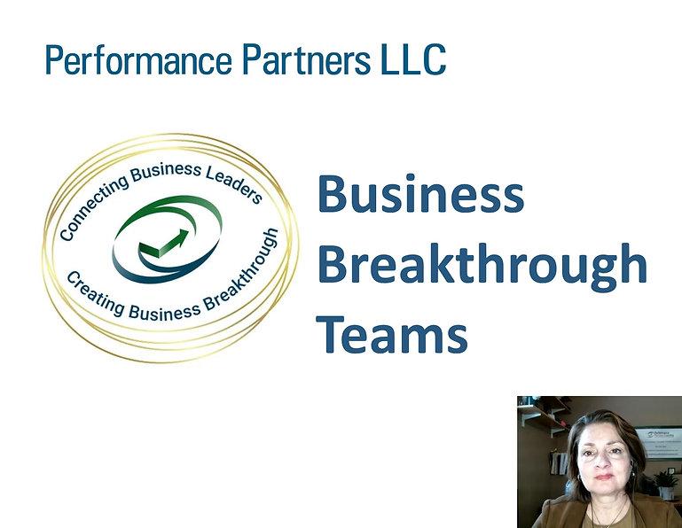Intro to Business Breakthrough Team