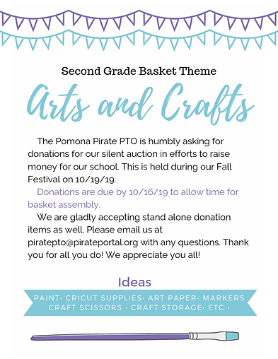 2nd Grade Silent Auction Flyer.png