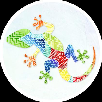 Screen Door Magnets - Gecko