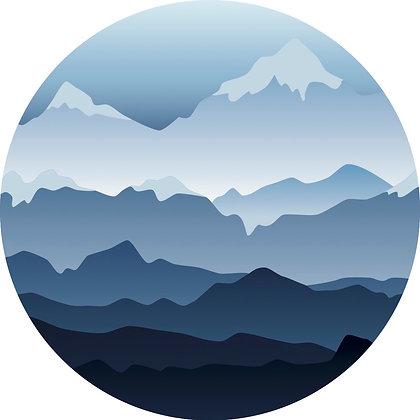 Screen Door Magnets - Mountains