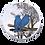 Thumbnail: Electric Stove Burner Covers - Blue Birds