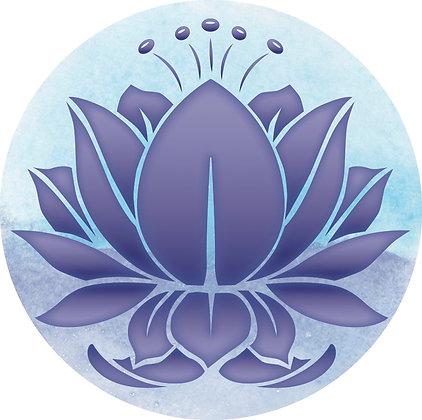 Screen Door Magnets - Blue Lotus