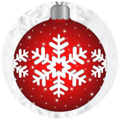 Screen Door Magnets - Holiday Bulb