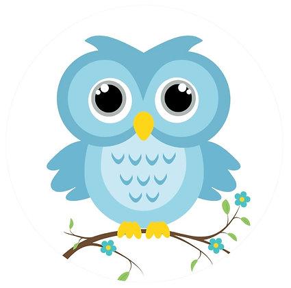 Screen Door Magnets - Little Blue Owl