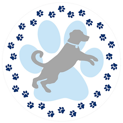 Screen Door Magnets - Dog Paw