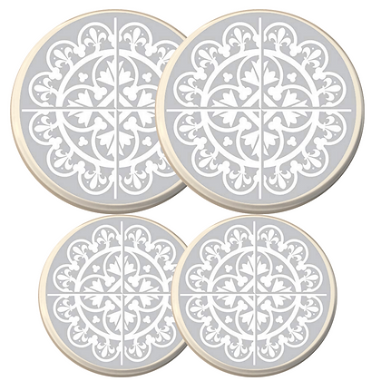 copy of copy of Electric Stove Burner Covers - Grey Tile