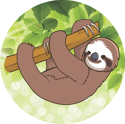 Screen Door Magnets - Sloth