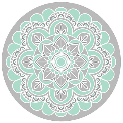 Screen Door Magnets - Teal Mandala