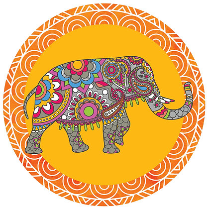 Screen Door Magnets - Elephant