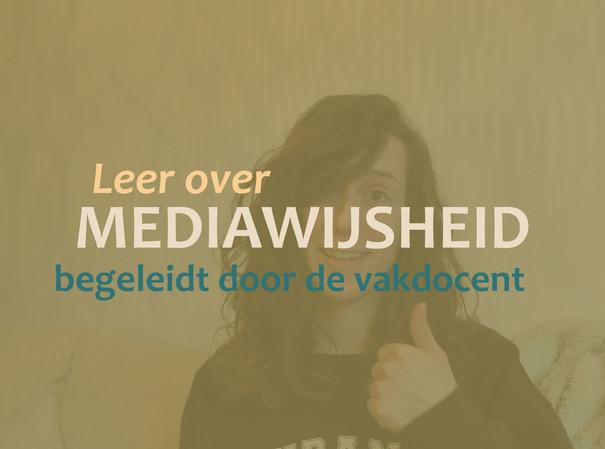 Crash course vloggen, Mediawijsheid