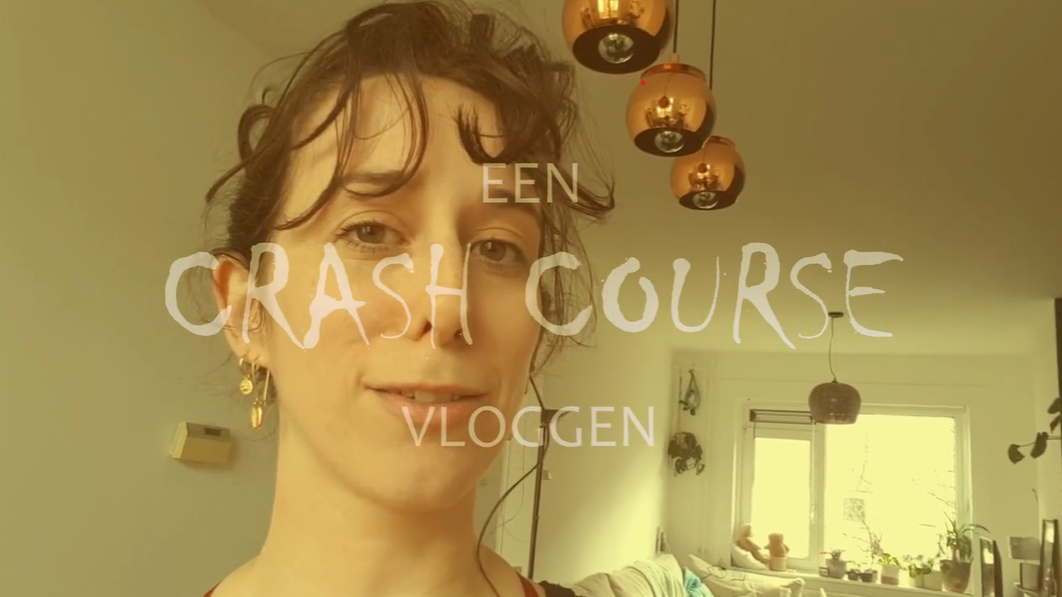 Workshop Een crash course vloggen