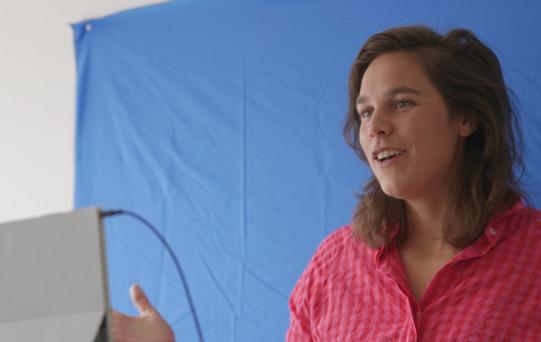 Merel Steinweg, de StandUpBlogger in actie