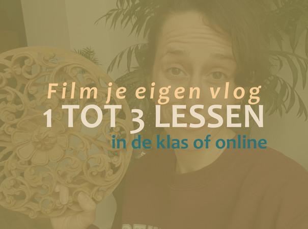 Crash course vloggen, film je eigen vlog
