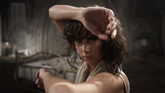 Dancer Flory Curesco, in dance film Expo