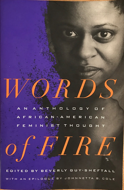 Words of fire - Guy-Sheftall, Beverly