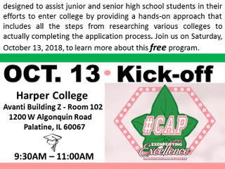 CAPS- Signature Program October 13th