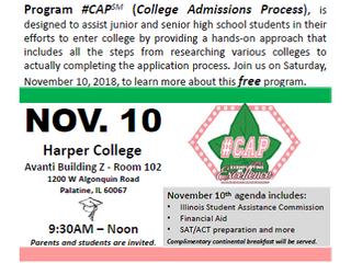 #CAP Signature Program- November 10th