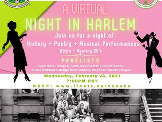 A Virtual Night in Harlem