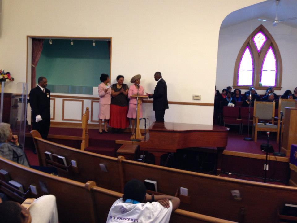 EAF Donation to Christian Tabernacle