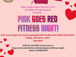 Pink Goes Red- Fitness Night