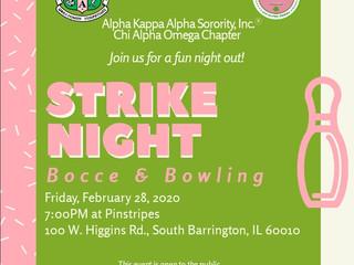 Pink Friday: Strike Night