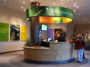 Welcome Desk at the National Zoo