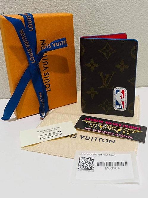 Brand New NBA LV Pocket Organizer