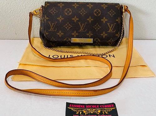 LV Favorite PM  Mono Crossbody Bag