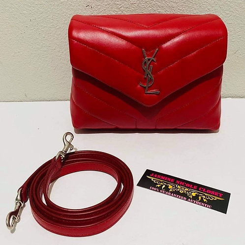 Brand New YSL LOULOU Red TOY